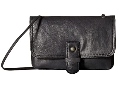 Lucky Brand Liza Convertible Wallet (Black) Handbags