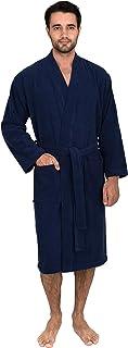 TowelSelections Men's Robe, Turkish Cotton Terry Kimono Bathrobe, Made in Turkey