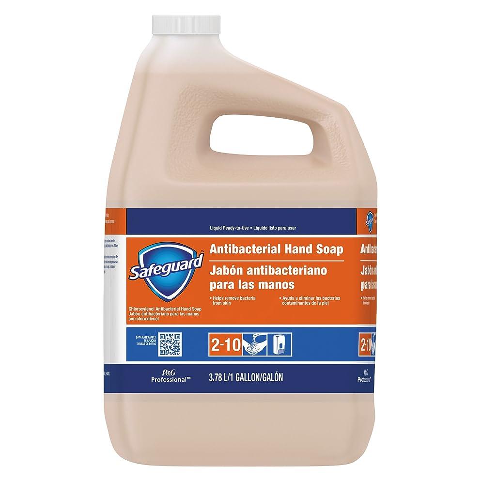 通訳ペスト反論者Safeguard抗菌Liquid Hand Soap , 1?galボトル、2?/カートン