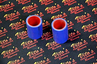 2 X Vito's Yamaha Banshee Exhaust Pipe Clamps All Years Fmf Toomey Blue Silicone