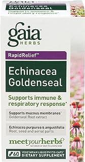 Gaia Herbs, Echinacea Goldenseal Supreme, 60 Capsules