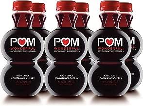 POM Wonderful Pomegranate Cherry, 100% Juice, 16-ounce, 6 Count