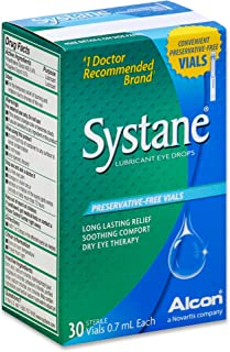 Systane Lubricant Eye Drops, Preservative-Free Vials - 30 ct.