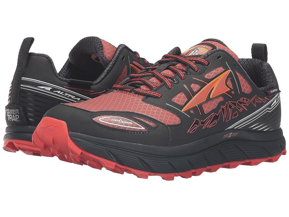 Altra Footwear Lone Peak 3 Neoshell (Black/Orange) Men