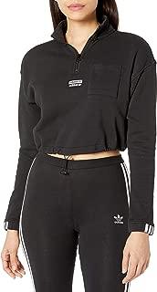 adidas Originals Women's Half-Zip Sweatshirt