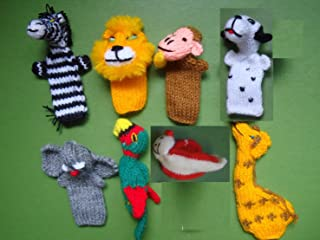 Hand Made Wool Finger Puppets
