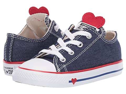 f489ad747f63a5 Converse Kids Chuck Taylor All Star Denim Love - Ox (Infant Toddler ...