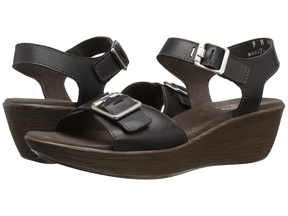 Munro Marci (Black Leather) Women