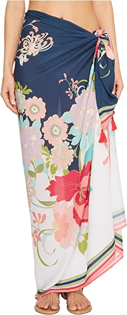 Trina Turk - Royal Botanical Pareo Cover-Up