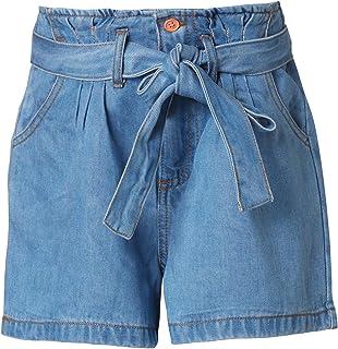 Funky Buddha Denim Shorts In Plain Pattern