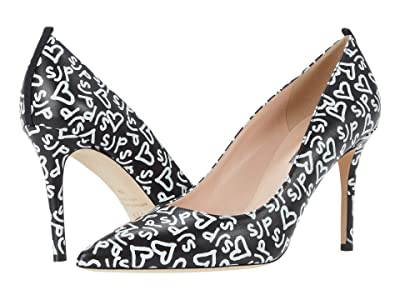 SJP by Sarah Jessica Parker Fawn 90mm (Black Sjp Hearts) Women