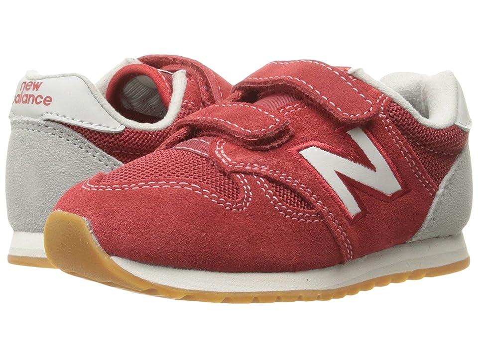 New Balance Kids KA520v1 (Infant/Toddler) (Red White) Boys Shoes