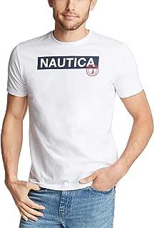 Men's Short Sleeve 100% Cotton Classic Logo Series Graphic Tee Shirt
