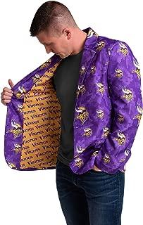FOCO NFL Mens Digital Camo Party Business Suit Jacket