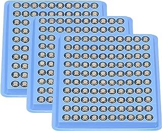 Windmax 300 pcs Durable R626 377 SR626 177 AG4 1.5V Alkaline Coin Button Cell Batteries