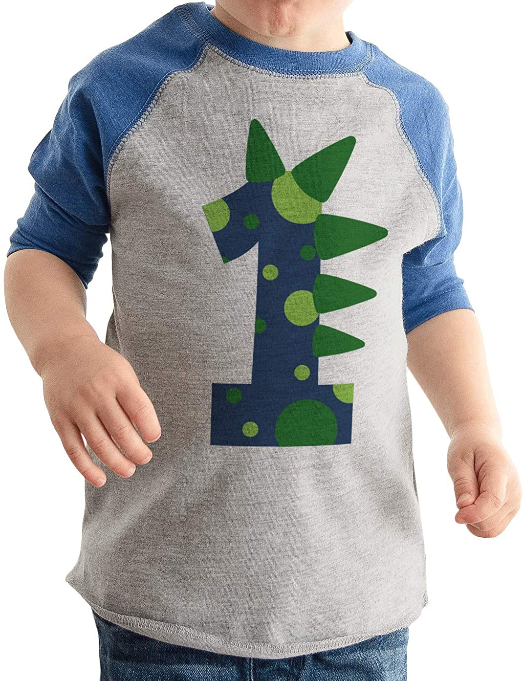 1st Birthday Shirt Boy Dino One Year Old Boys Birthday Boy Shirt Dinosaur 1 Gift