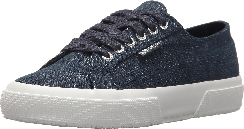 Superga Womens 2750 DENIMSHINYW Sneaker