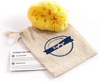 comprar comparacion Esponja para bebés Zephyr®, esponja de mar natural para el aseo del bebé (5-8 cm) - Esponja de baño vegetal y lavable para...