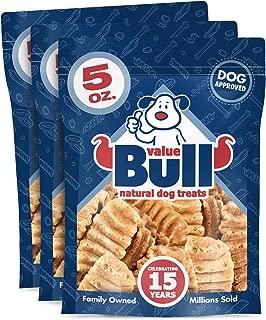 ValueBull USA Sweet Potato Crisps Dog Treats, 5 Ounce, 3 Pack