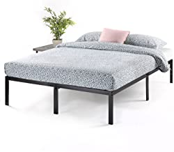 Best Price Mattress 14 Inch Metal Platform Beds w/Heavy Duty Steel Slat Mattress Foundation (No Box Spring Needed), Black