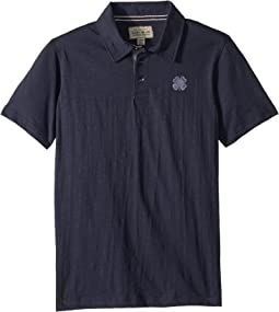 Lucky Brand Kids - Short Sleeve Washed Polo (Big Kids)