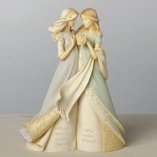 "Foundations Like a Sister Stone Resin Figurine, 7.68"""