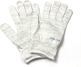 エレクトロ手袋 T100 細ニット 1双(静電気除去・防止、除電グッズ、帯電防止)