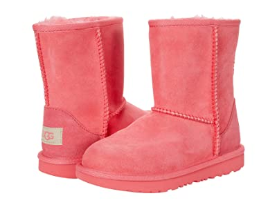 UGG Kids Classic II (Toddler/Little Kid) (Strawberry Sorbet) Girls Shoes