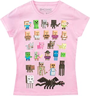 minecraft tshirts for girls