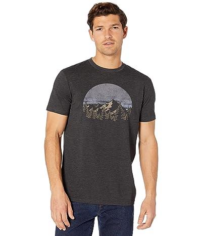 tentree Vintage Sunset Short Sleeve Tee (Meteorite Black Heather) Men