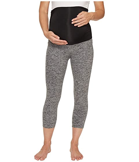 Cheap Get Authentic 2018 Cheap Price Beyond Yoga Fold Down Maternity Capri Leggings Black/White Space Dye GH9wDH5c