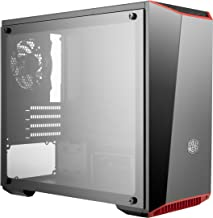 Cooler Master MasterBox Lite 3.1 TG Computer Case 'Dark Mirror Front Panel, Customisable Trim Colours, Tempered Glass Side Panel' MCW-L3S3-KGNN-00