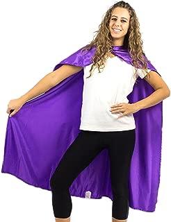 Adult Superhero Cape | Superhero Capes for Adults | Satin Costume Cape