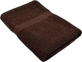 Fresh From Loom 450 GSM Cotton Fabric Bath Towel, 27 x 54 Inch, Coffee
