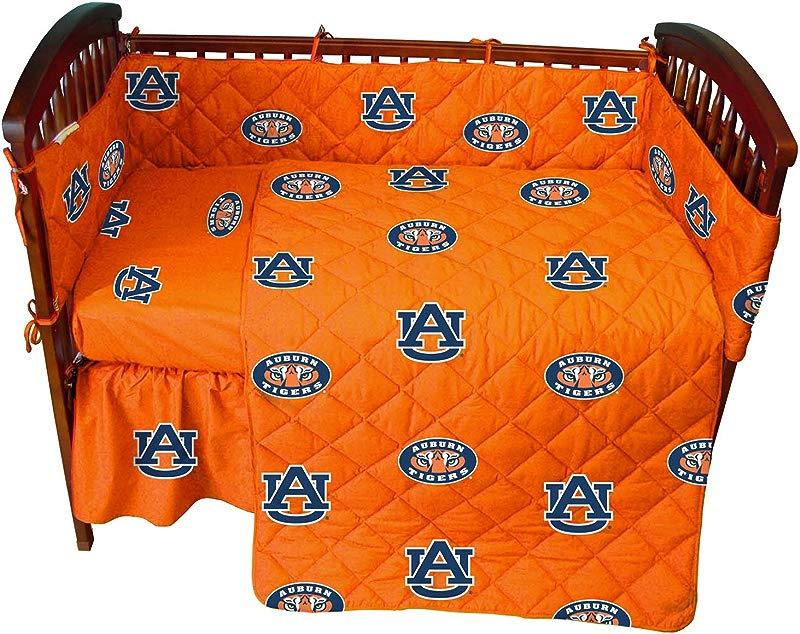College Covers Auburn Tigers 5 Piece Baby Crib Set
