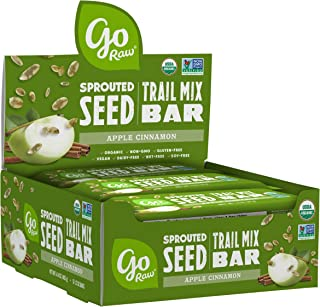 Go Raw Sprouted Seed Trail Mix Bars (box of bars) — Snack | Gluten Free | Paleo | Vegan | Natural | Organic | Nut Free App...
