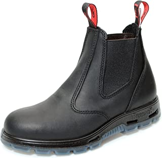 Boots USBBK Easy Escape Steel Toe - Black Leather Work Boots