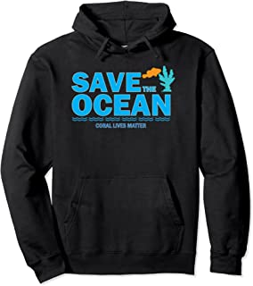 Save the Ocean Coral Lives Matter Reef Tank Hoodie