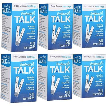 Embrace Talk Test Strips Bundle 300 Ct
