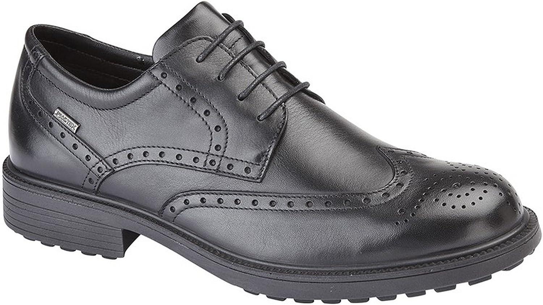 Imac M9582A Herren Water Resistant Brogue Gibson Gibson Schuhe, Schwarz  neu eingebrannt