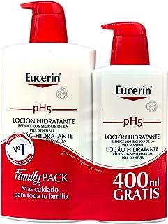Eucerin Family Pack Ph5, Locion 1000 ml y Locion 400 ml,