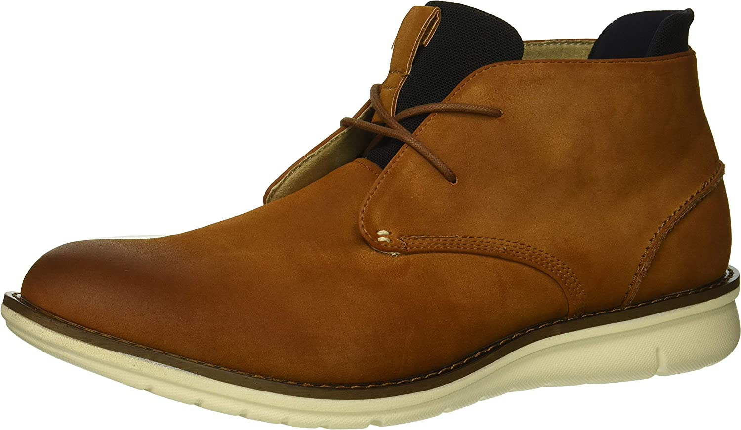 Kenneth Cole REACTION Hommes's Casino Chukka démarrage, tan Navy, 10.5 M US