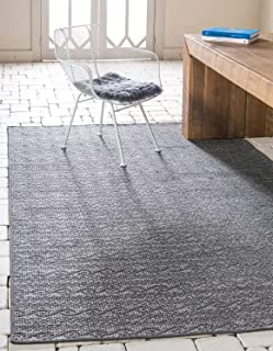 Best gray striped outdoor rug Reviews