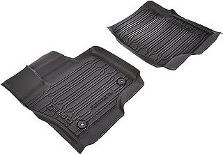 Ford HL3Z-1613300-AA Black Floor Liner - Tray Style, Ebony, 3-Piece, Supercrew