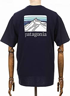 Patagonia M's Line Logo Ridge Pocket Responsibili-Tee Maglietta Uomo