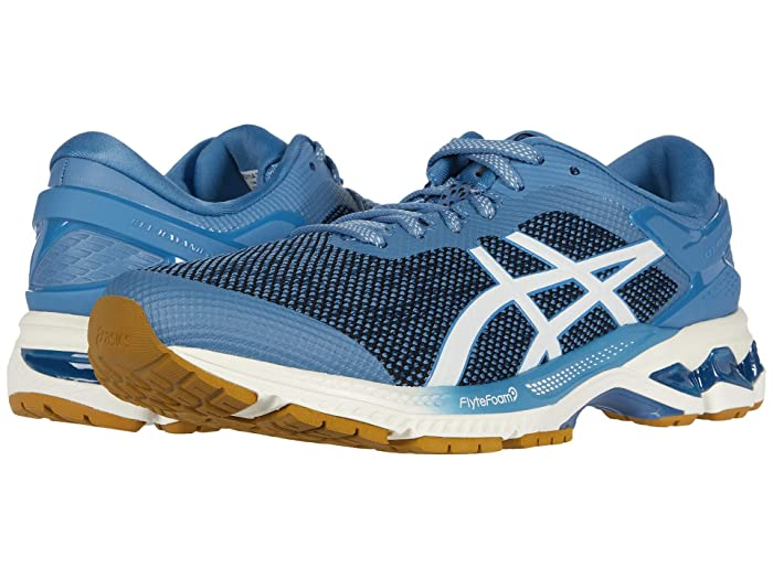 ASICS  GEL-Kayano 26 (Grey Floss/Cream) Mens Running Shoes