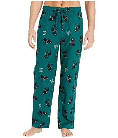 Life is Good Classic Sleep Pants (Spruce Green) Men