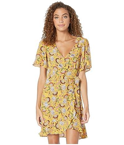 Sanctuary Sassy Wrap Dress (Sunrays) Women