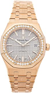 Audemars Piguet Royal Oak Mechanical (Automatic) Grey Dial Womens Watch 15451OR.ZZ.1256OR.02 (Certified Pre-Owned)