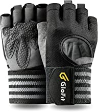 KANSOON Professional Padded Weight Lifting Gloves Female & Male, Gym Workout Gloves for Men & Women with Wrist Support, Fu...